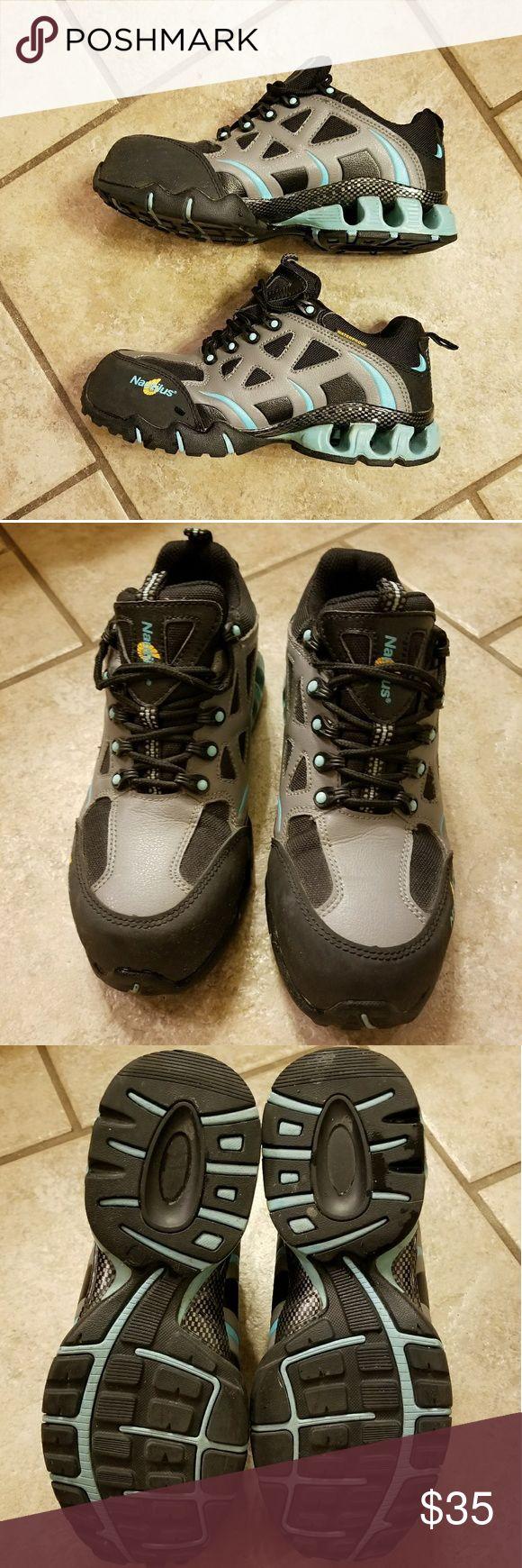 Nautilus safety steel toe shoes Worn twice. Comfortable steel toe shoe women's size 8. Nautilus Shoes