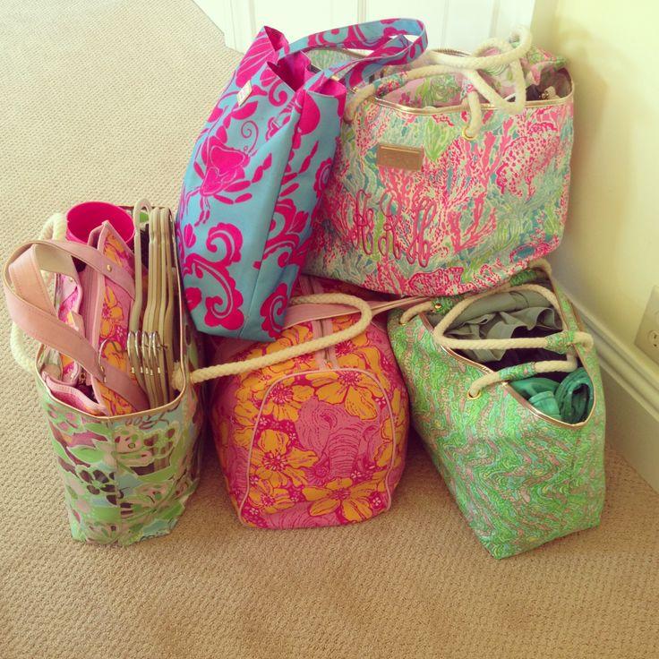 lilly beach bags