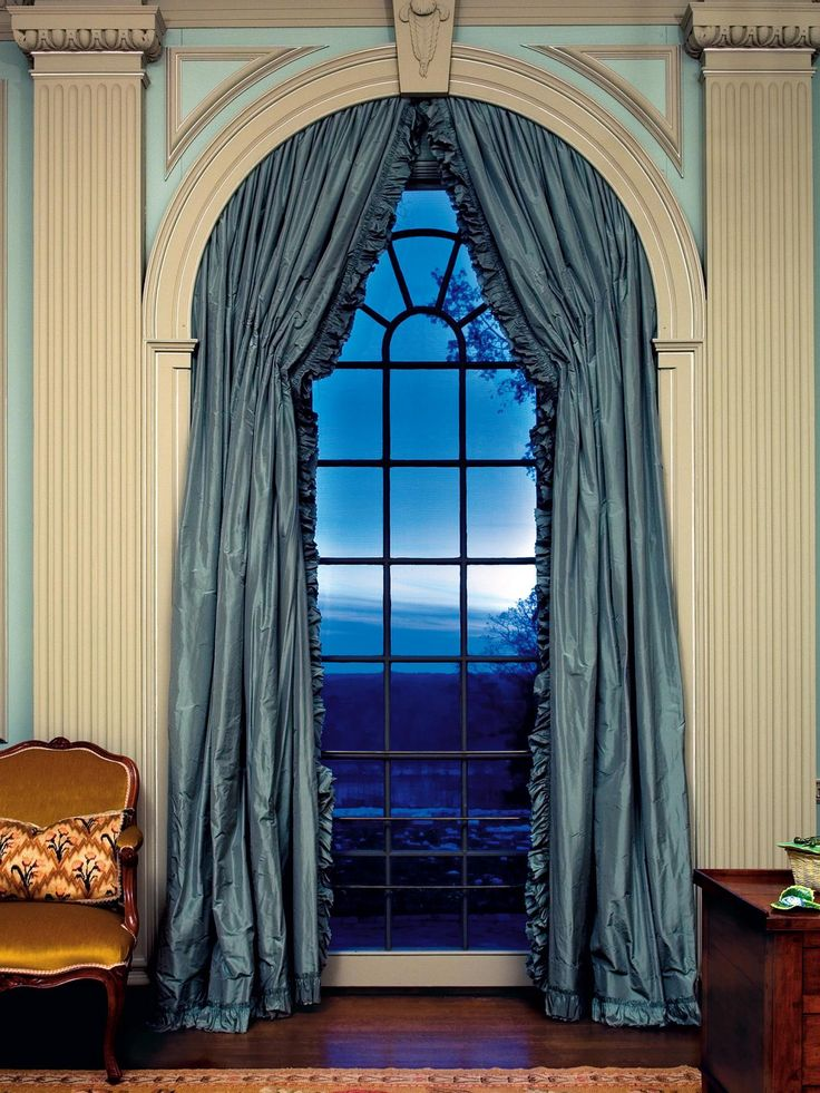 Clip Art Arched Window Treatments