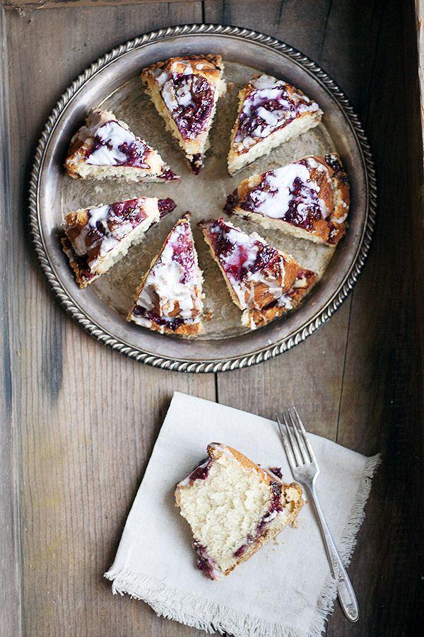 easy raspberry ricotta cake - Heather's French Press