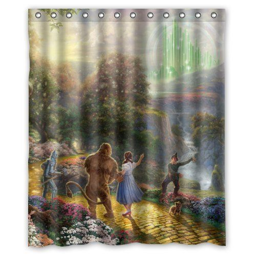 The Wizard Of Oz 60 By 72 Inch Bathroom Waterproof Shower Curtain OMG I Want This