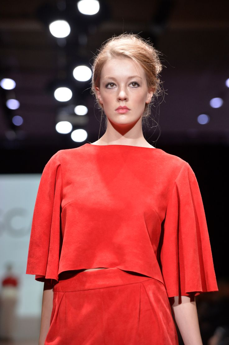 Wellington Fashion Week 2014 'Scarlet' by Rebecca Robbie