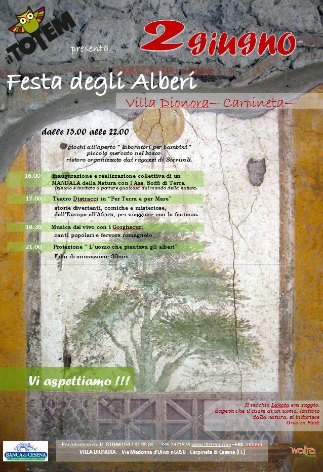2 giugno festa degli alberi _ Cooperativa sociale Il Totem