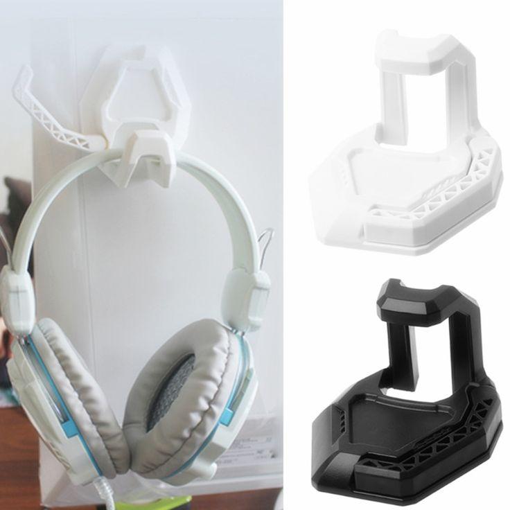 Uniwersalny Słuchawkowe Słuchawkowego Uchwyt Wieszak Trwałe Pulpitu Do Montażu Na Ścianie Uchwyt na Kable Słuchawki Adaptery Czarny Biały # w Uniwersalny Słuchawkowe Słuchawkowego Uchwyt Wieszak Trwałe Pulpitu Do Montażu Na Ścianie Uchwyt na Kable Słuchawki Adaptery Czarny Biały # od Earphone Accessories na Aliexpress.com | Grupa Alibaba