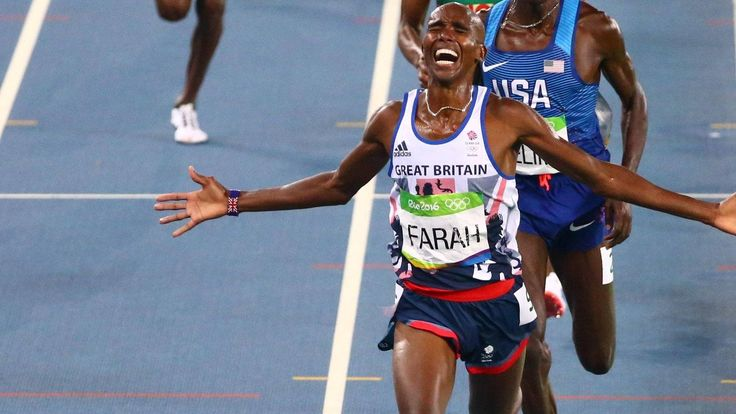 Mo Farah wins 5,000m gold to repeat his London 2012 double Women's 4x400m squad win bronze for GB's 66th medal in Rio GB's medal haul beats London 2012 and is their most overseas
