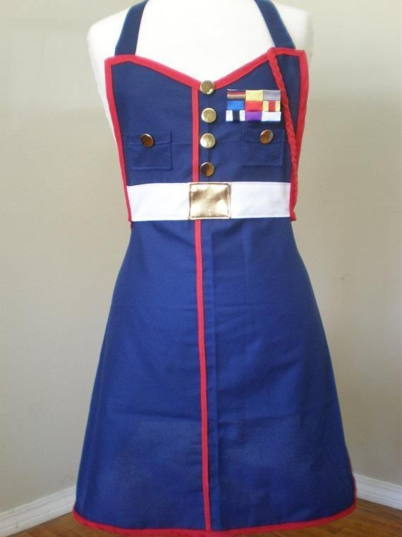 awesome marine corps apron.