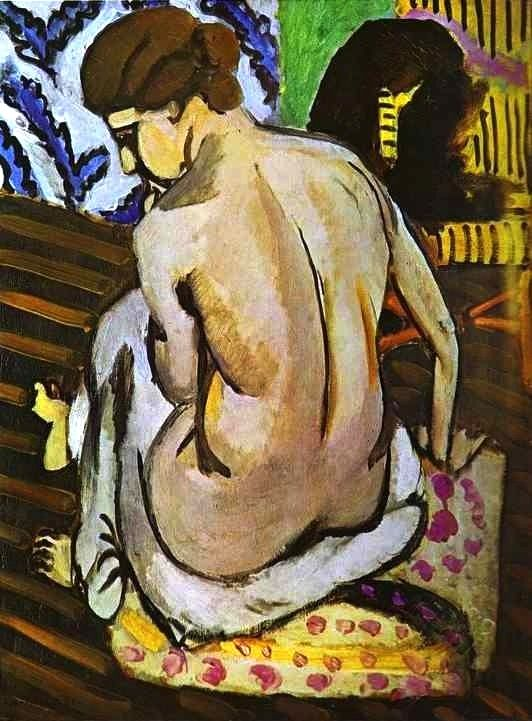 Nude's Back,1918 by Henri Matisse
