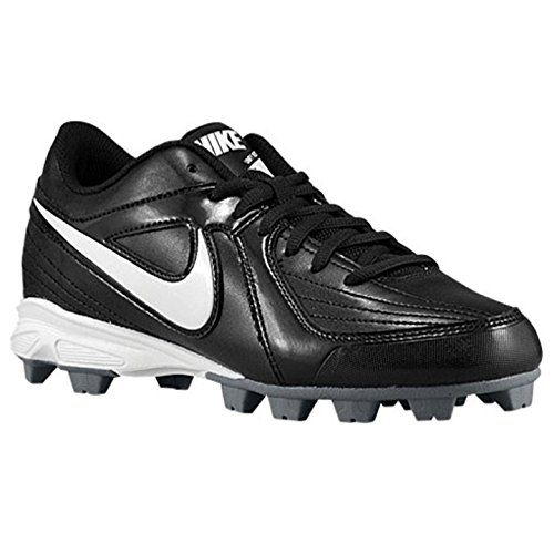 NIKE UNIFY KEYSTONE GS BLACK/WHITE GIRLS MOLDED SOFTBALL SHOES 4.5 Y EU 36.5 ** Learn more by visiting the image link.