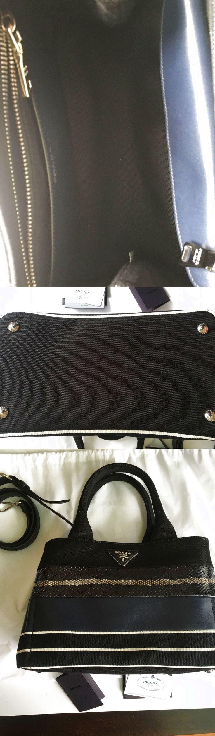 Prada handbag patch righe mix $680.0