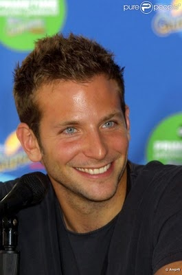 Bradley Cooper-- I even loved him back when he played a gay theater director in Wet Hot American Summer..