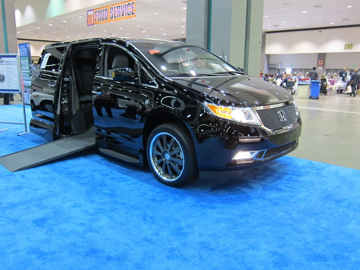 25th Anniversary Limited Edition VMI Honda Odyssey- Wheelchair vans with Style~! go to www.ftmobility.com