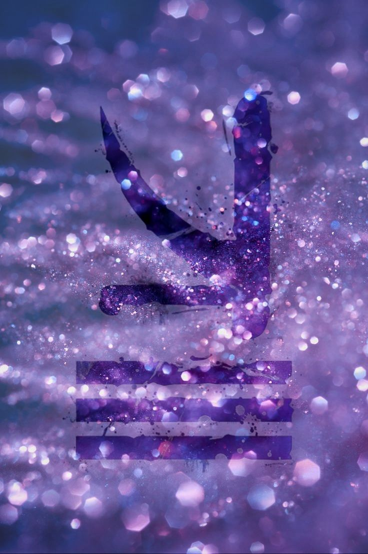 KSHMR logo❤️ #kshmr #kshmrlogo #logo #edm #purple #sparkle #gracethekshmrfan