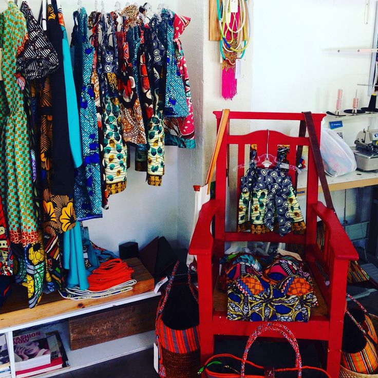 Now available at Stitch&Steel in Maboneng Precinct, Johannesburg. #africanprints #africanwaxprints #handmade #girlsdress #sundress #partydress #littlegirls