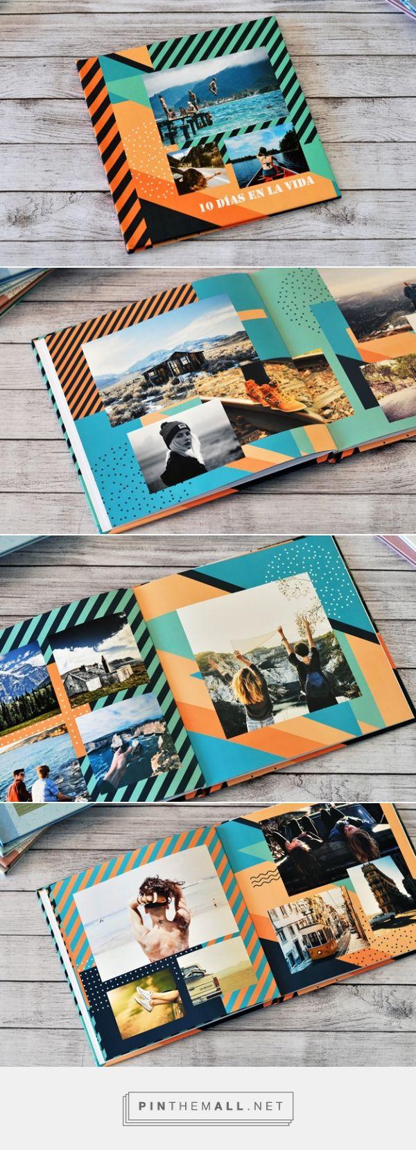 Geometri: Diseño de Fotolibro para descargar Gratis y completar con tus propias fotos. | Blog - Fábrica de Fotolibros - created via https://pinthemall.net