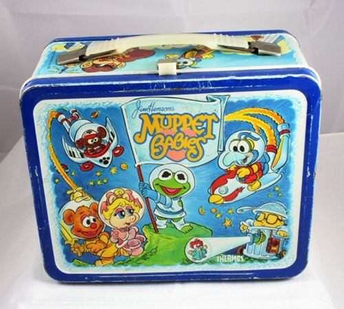 1985 Jim Henson's Muppet Babies Lunchbox by cebcollectibles, $30.00