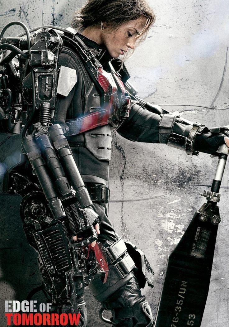 Emily Blunt - Edge of Tomorrow (2014) (1000×1426)