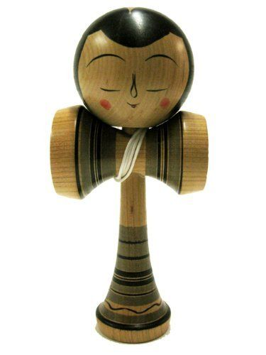 Kokeshi Kendama Hakusui Beauty : Japanese Traditional Wooden cup & ball game made in Japan by Kokeshi Kendama,