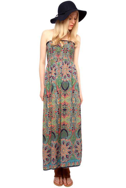 maxi dress too long to harvest