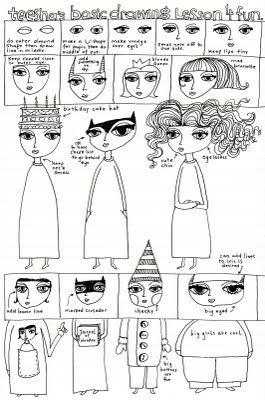 Teesha... drawing lesson