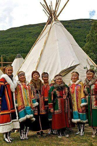 NENETS TÜRKLERİ Kuzeybatı Sibirya..