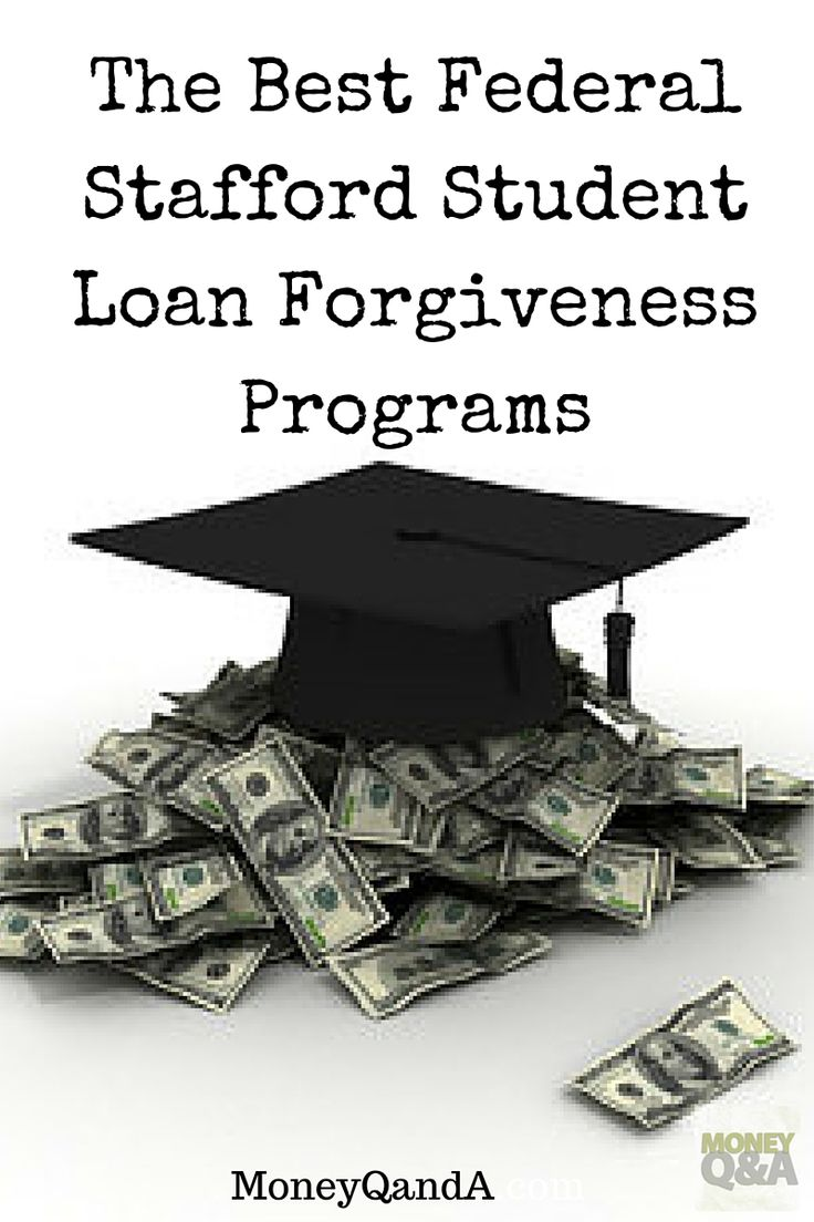 What are good Federal Stafford student loans forgiveness programs? There are a few and some that you need to know in order to save money on student loans. There are several instances where you may qualify for loan forgiveness of your federal Stafford Loan