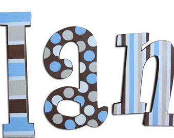 Tractor letras Letras de madera Letras por CuteBoutiqueLetters