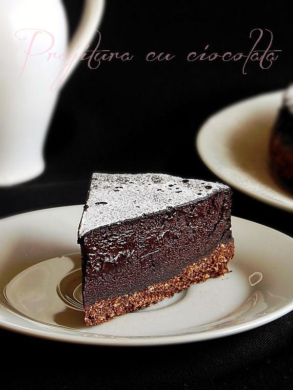 Prajitura cu ciocolata si niste ganduri
