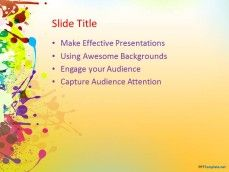 8 best templates powerpoint images on pinterest templates add life to your presentations with colorful backgrounds for a fine arts project or to share decoration ideas with free color powerpoint background for pc pronofoot35fo Image collections