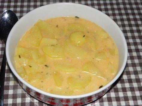 Gyermekkorom ízei: Krumpli főzelék