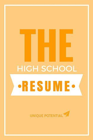 17 best Teen job searches images on Pinterest Job resume, High - teen resume