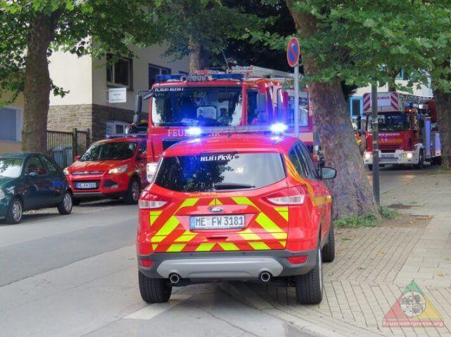 Heiligenhaus: Fehlalarm – Wecker löste Feuerwehreinsatz aus