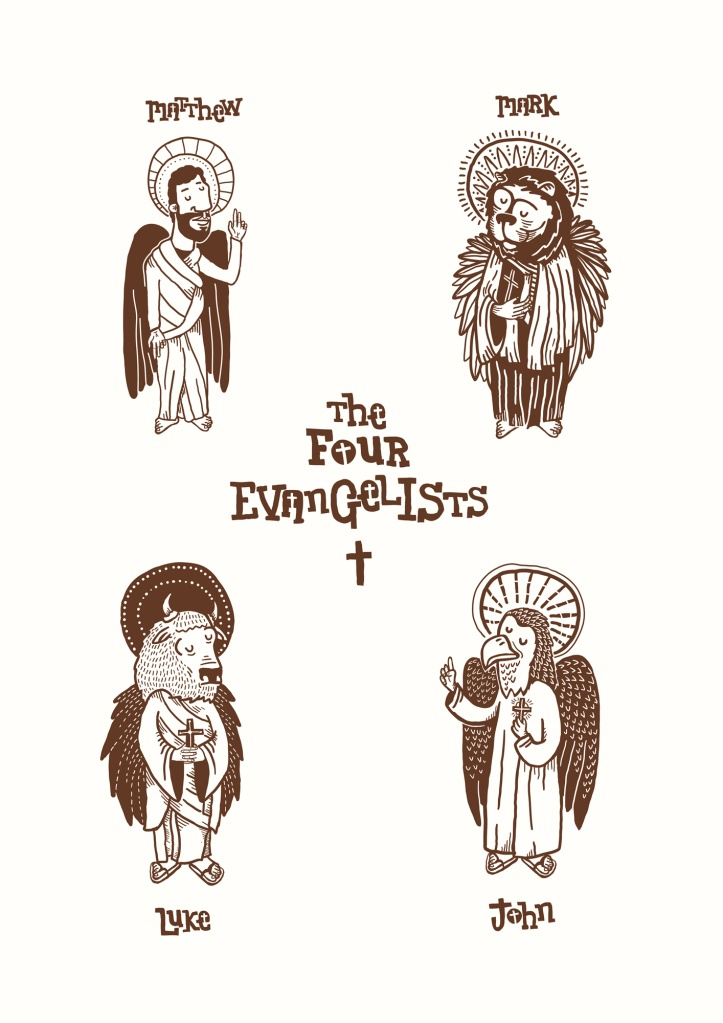 19 Best Four Evangelists Images On Pinterest Icons Religious Art