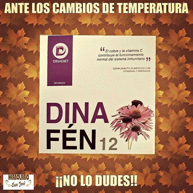 Dinafen 12 Esta Recomendado Para Fortalecer El Sistema Inmune Con