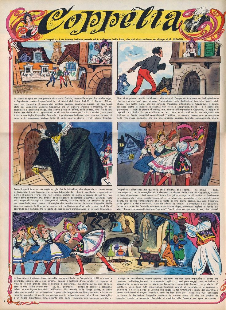 Coppelia 01 Tratto dal nº 7 del 13 febbraio 1966 del Corriere dei Piccoli