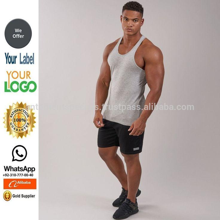 sports singlets /singlets for men/High Quality Blank Gym Mens Stringer Singlet/Custom Gym Stringer Vest