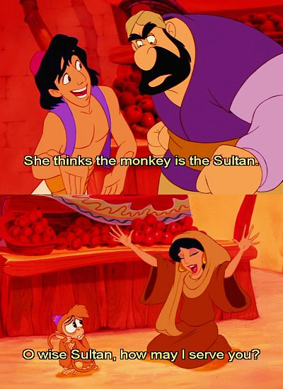 I love this part, and how Jasmine just THREW HERSELF HEADFIRST INTO BEING CRAZY <3 <3 <3