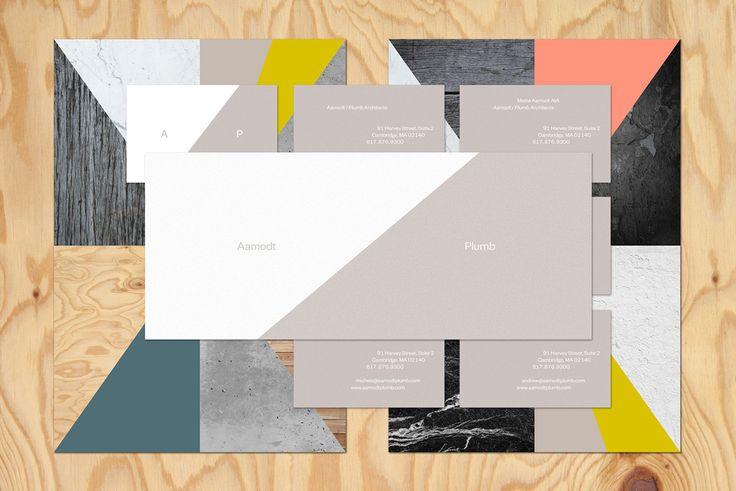 TwoPoints recibió el encargo de diseñar la nueva identidad visual del estudio de arquitectura Aamodt / Plumb en Cambridge. Los diseñadores decidieron...