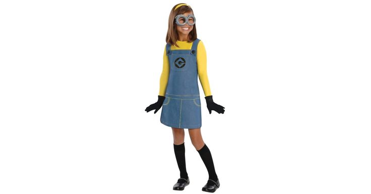 I found great Halloween Costumes on BuyCostumes.com. Despicable Me 2 - Female Minion Kids Costume, Click here to find more unique Costume ideas! Life's better in costume.