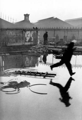Henri Cartier-Bresson, Behind the Gare St. Lazarre, 1932