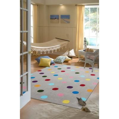 Kids+Dots+Design+Rug+Grey+165x115cm