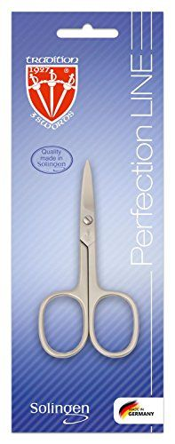 """3 Swords - nail scissor, nickel plated mat, Quality: Made in Solingen/Germany Exclusive nail scissors - MANICURE - PEDICURE - GROOMING - NAIL CARE - """"Made in Solingen/Germany"""" by THREE SWORDS Contents: Nail  Read more http://cosmeticcastle.net/tool-accessories/3-swords-nail-scissor-nickel-plated-mat-quality-made-in-solingengermany  Visit http://cosmeticcastle.net to read cosmetic reviews"""