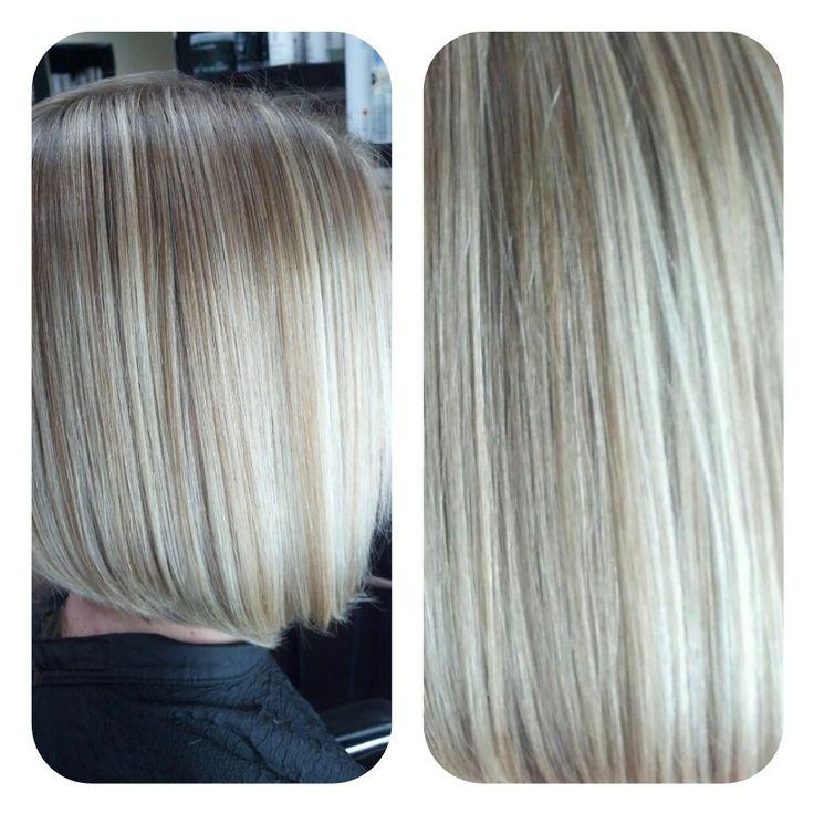 Gray Hair With Lowlights Beautiful