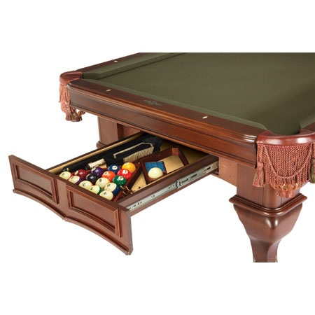Westcott Pool Table by Brunswick. This is the table for me, I think. Wow, though, the price is crazy!