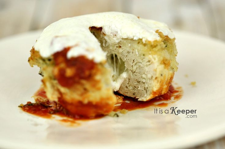 Healthy Easy Dinner Recipes: Chicken Parmesan Meatloaf - It's a Keeper