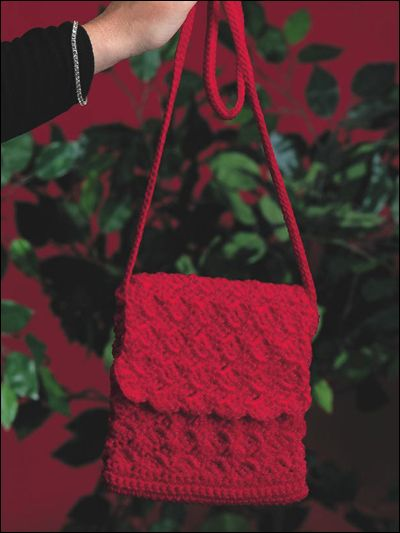 Ruby Goes to Town Handbag: free pattern