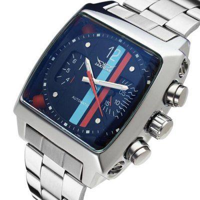 Jaragar Men Stainless Steel Band Automatic Mechanical Watch-24.83 Online Shopping  GearBest.com