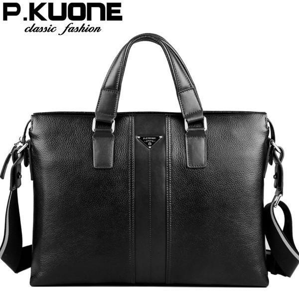 Designer brand 100% cowhide men's bag | Furrple
