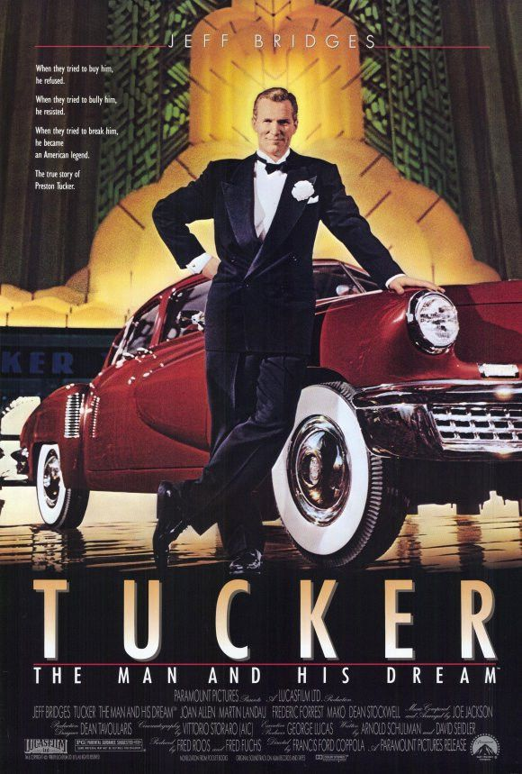 """Tucker : The Man And His Dream (1988) According to New York Magazine, Tucker: A Man And His Dream is """"as fast, sleek and streamlined as the car - the Tucker Torpedo, that Preston Tucker built in 1948."""