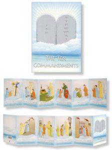 The Ten Commandments Booklet