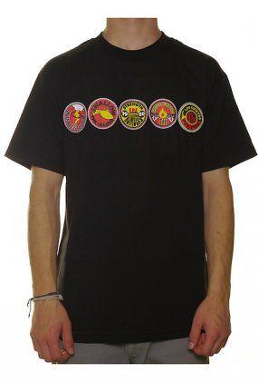 Magliette Skate - Frisco: abbigliamento casual uomo. Nello streetwear online shop trovi t shirt nixon, magliette wesc e maglie dc THE HUNDREDS